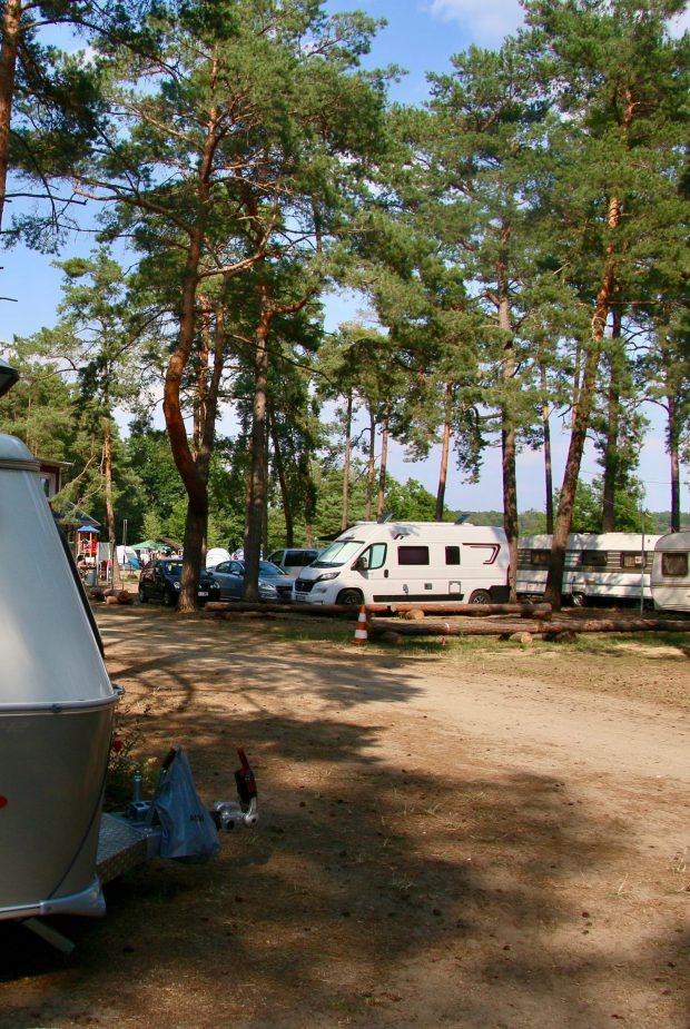 Campingplatz Hölzerner See